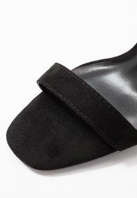 Miss Selfridge - SALLIE - Sandalen met hoge hak - black - 2