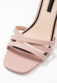 Miss Selfridge - SADIE STRAP MID HEIGHT  - Sandalen met hoge hak - pink - 2