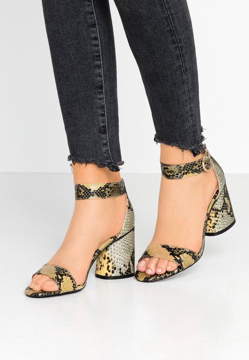 Miss Selfridge - SOPHIE - Sandals - grey/multicolor