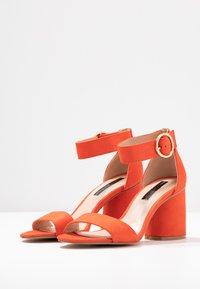 Miss Selfridge - SOPHIE - Sandals - orange - 4
