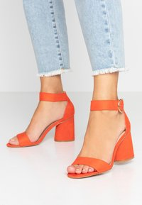 Miss Selfridge - SOPHIE - Sandals - orange - 0