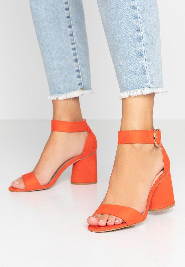 SOPHIE - Sandals - orange