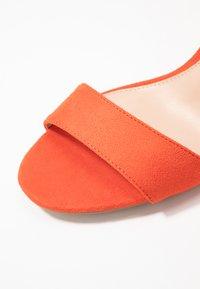 Miss Selfridge - SOPHIE - Sandals - orange - 2