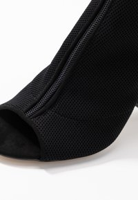 Miss Selfridge - KNITTED - High heeled sandals - black - 2