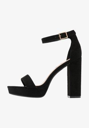SIREN - High Heel Sandalette - black
