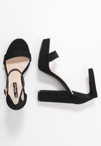 Miss Selfridge - SIREN - Sandály na vysokém podpatku - black - 3