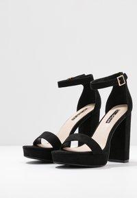 Miss Selfridge - SIREN - Sandály na vysokém podpatku - black - 4