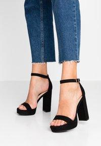 Miss Selfridge - SIREN - Sandály na vysokém podpatku - black - 0