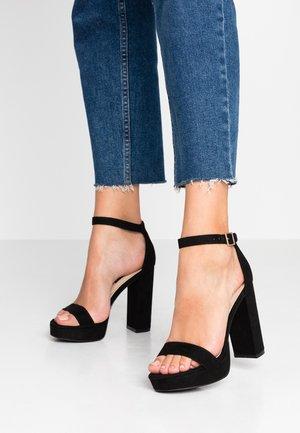 SIREN - Sandály na vysokém podpatku - black