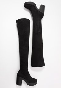 Miss Selfridge - OZZY - Korolliset saappaat - black - 3