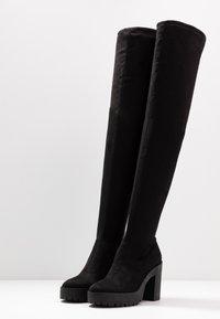 Miss Selfridge - OZZY - High heeled boots - black - 4