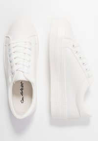 Miss Selfridge - TRICKSTER - Sneakers basse - white - 3
