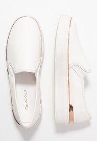 Miss Selfridge - TRULY FLATFORM  - Mocassins - white - 3