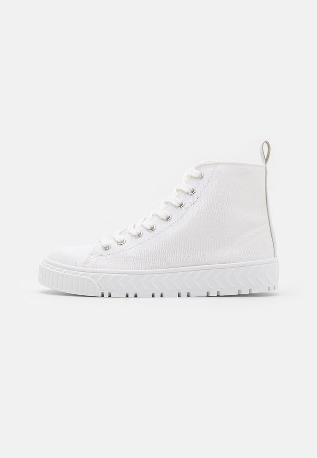TAURUS  - High-top trainers - white
