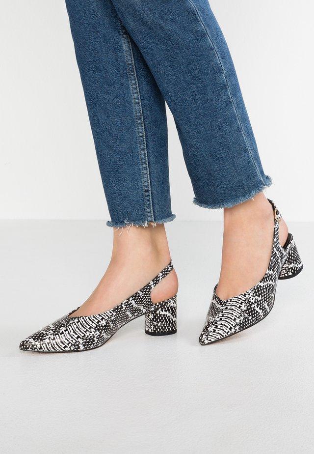 CLARA - Classic heels - grey