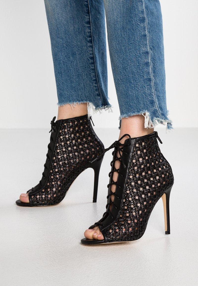 Miss Selfridge - HILARY - High heeled ankle boots - black
