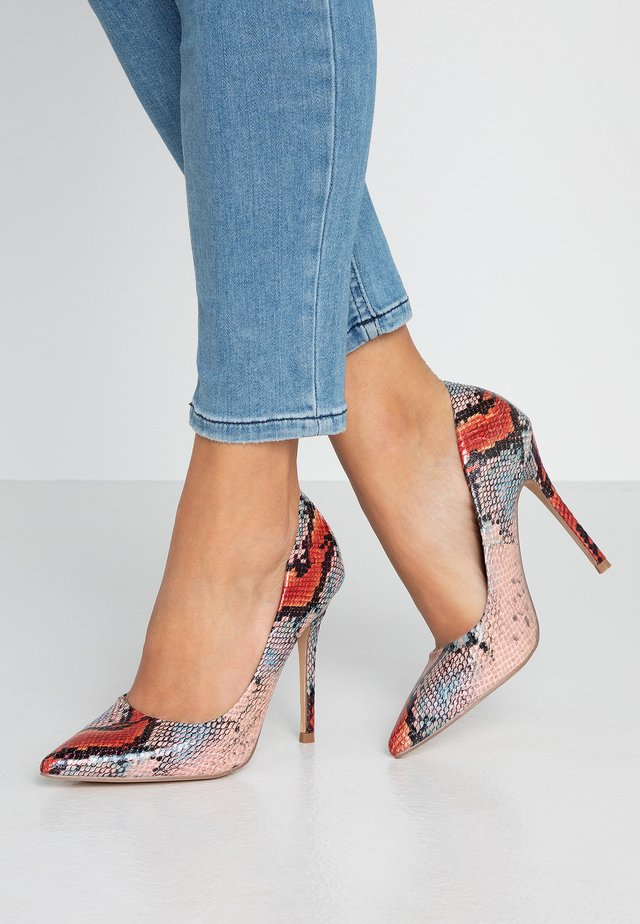 CATERINAPOINTED STILETTO COURT - High heels - pink