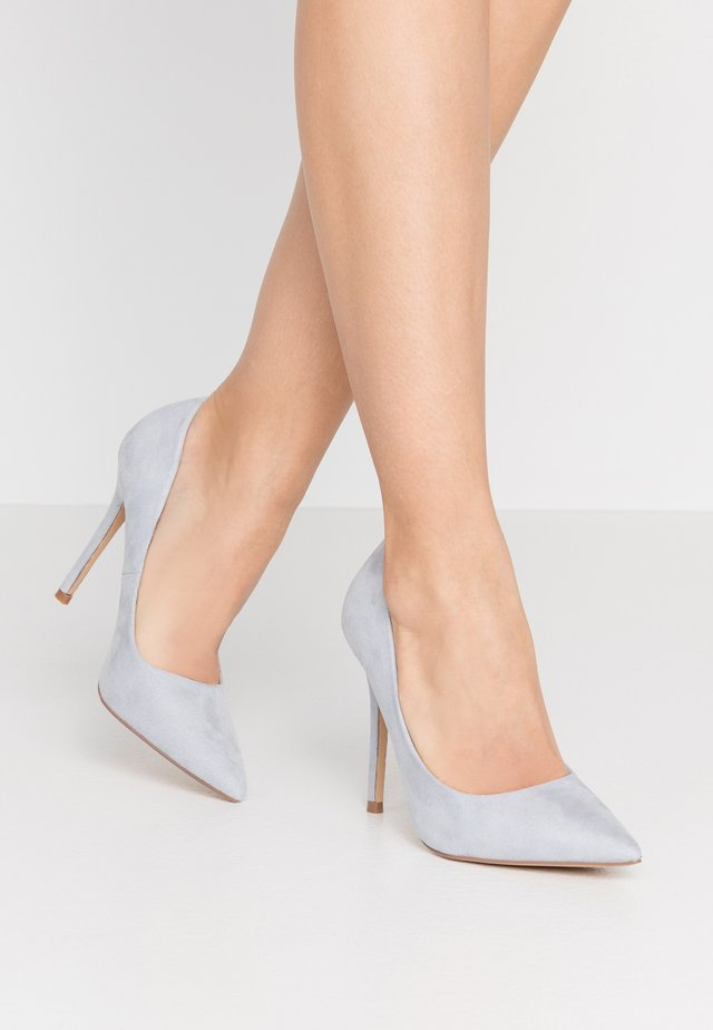 CATERINAPOINTED STILETTO COURT - High heels - pale blue