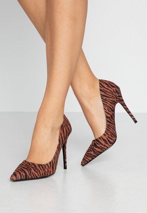 CATERINAPOINTED STILETTO COURT - Høye hæler - multicolor