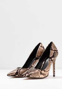 Miss Selfridge - CHAOS SEXY COURT - Højhælede pumps - bronze - 4