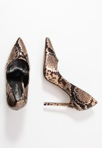 Miss Selfridge - CHAOS SEXY COURT - Højhælede pumps - bronze - 3