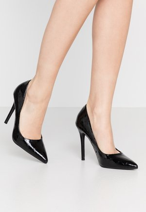 CATERINAPOINTED STILETTO COURT - Højhælede pumps - black