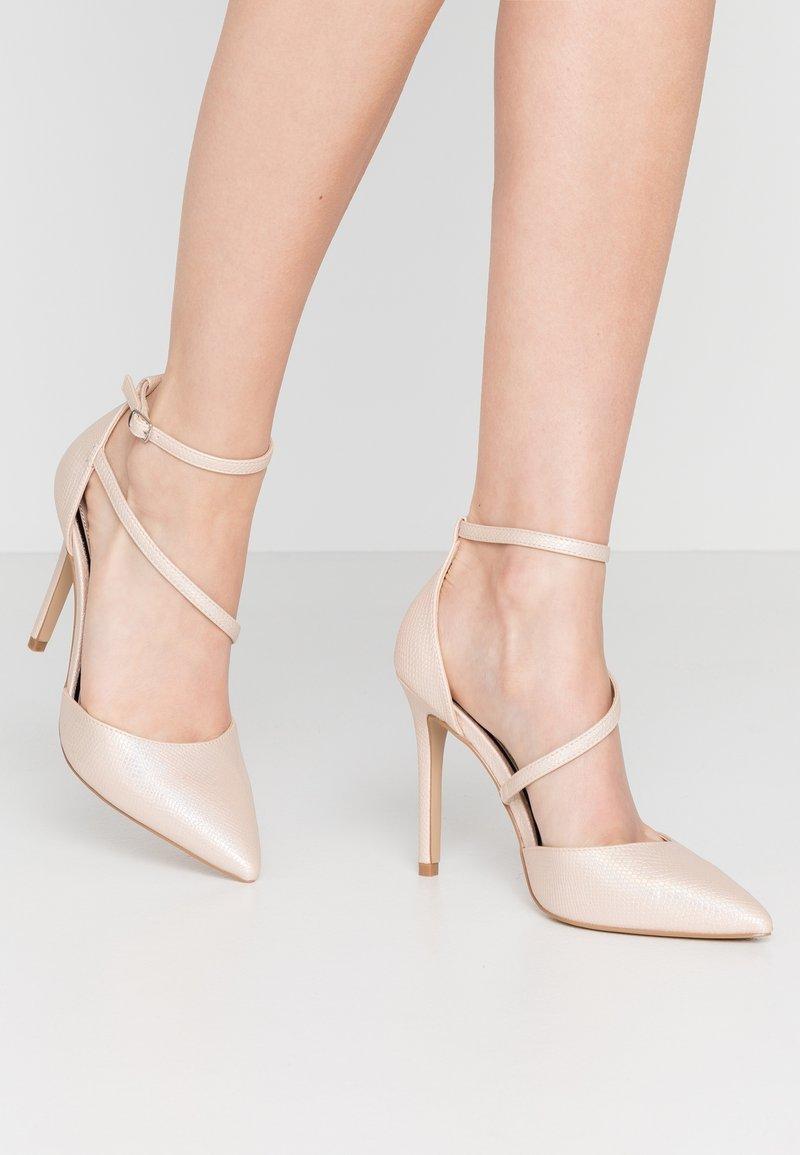 Miss Selfridge - CRYSTAL COURT - High heels - metallic