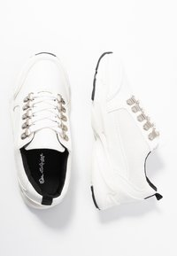Miss Selfridge - TRUE HIKER LACE UP TRAINER - Trainers - white - 3