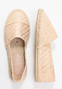 Miss Selfridge - LOWER - Espadrilles - gold - 3