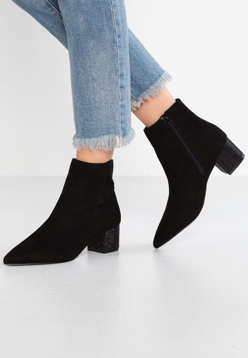 Miss Selfridge - HEEL BOOT - Classic ankle boots - black