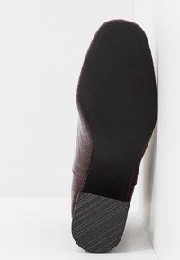 Miss Selfridge - BRIXTON - Ankelstøvler - burgandy - 6