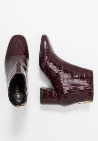 Miss Selfridge - BRIXTON - Ankelstøvler - burgandy - 3