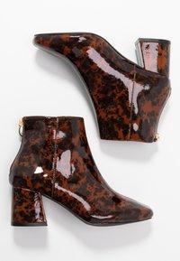 Miss Selfridge - BRIXTON - Kotníková obuv - brown - 3