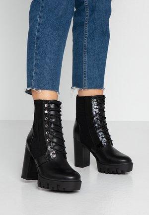 BEATIE - High Heel Stiefelette - black