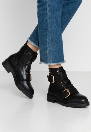 BESTIE - Lace-up ankle boots - black