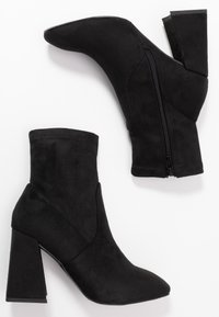 Miss Selfridge - BROOKLYN - Ankelboots med høye hæler - black - 3