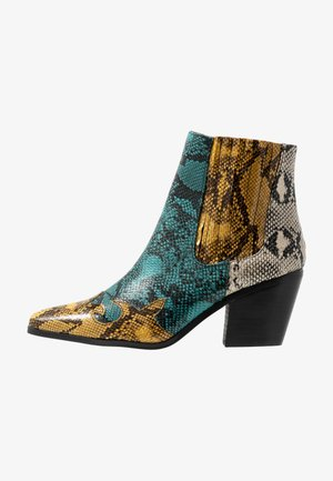 BEWITCHED WESTERN - Ankle boots - multicolor