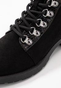 Miss Selfridge - BROGAN - Korte laarzen - black - 2