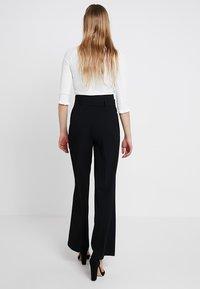 Miss Selfridge - WIDE LEG TROUSER SOURCING - Pantaloni - black - 2