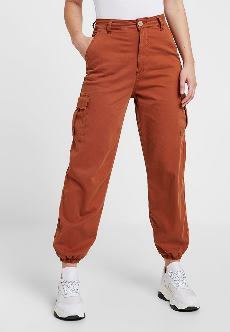Miss Selfridge - TROUSER - Stoffhose - rust