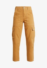 Miss Selfridge - NEW CARGO POCKET TROUSER - Bukser - sand - 5