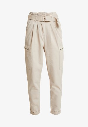 NEW SIDE POCKET TROUSER - Pantalones - oatmeal