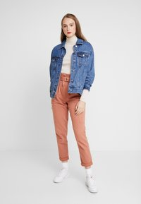 Miss Selfridge - NEW SIDE POCKET TROUSER - Bukse - blush - 2