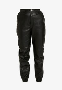 Miss Selfridge - JOGGER - Pantaloni - black - 4