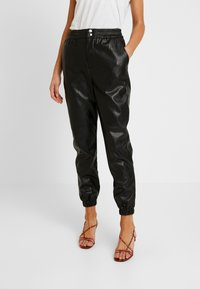 Miss Selfridge - JOGGER - Pantaloni - black - 0