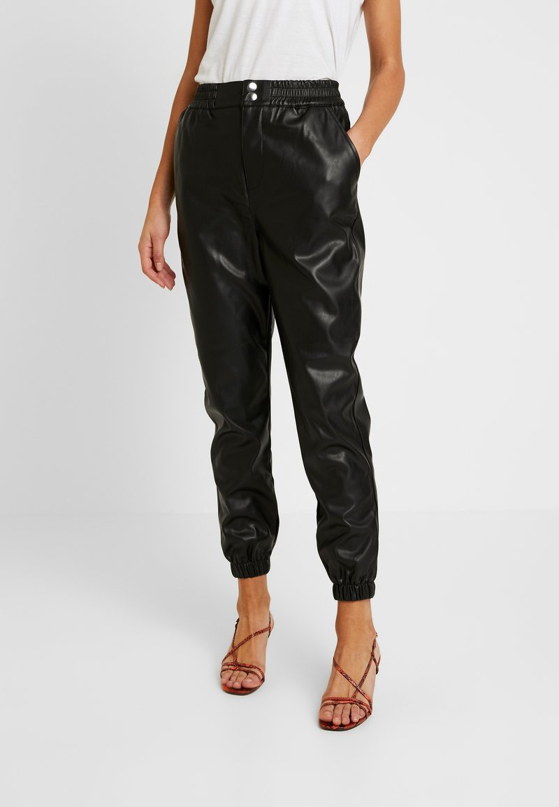 Miss Selfridge - JOGGER - Pantaloni - black