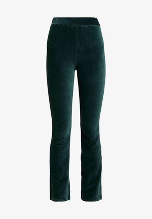 KICKFLARE TROUSERS - Trousers - emerald