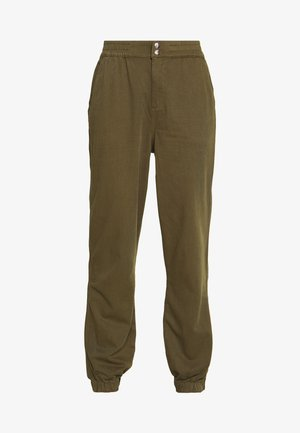 POPPER TROUSER REPEAT - Bukse - khaki