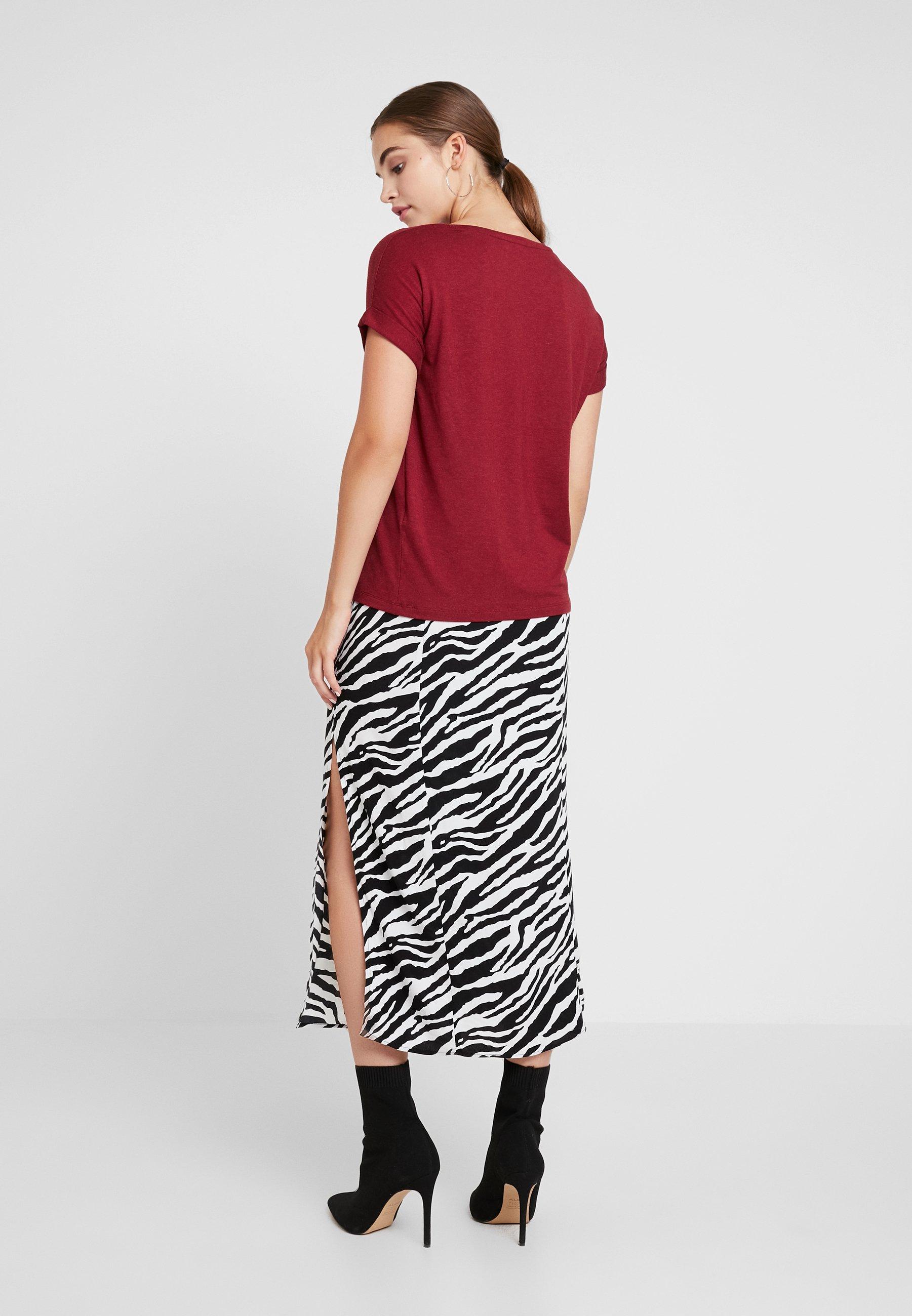 Longue Zebra Selfridge White SkirtJupe Column Miss shoCxrdtQB