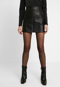 Miss Selfridge - SKIRT - Áčková sukně - black - 0